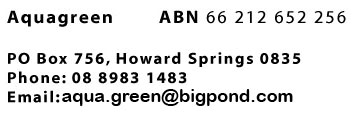 Aquagreen, Home of native Australian water plants for your aquarium, PO Box 756, Howard Springs NT 0835, ph: 08 8983 1483